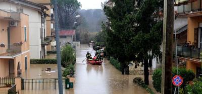 Le foto delle grandi piogge in Europa