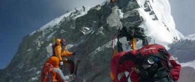 Una stazione di polizia sull'Everest