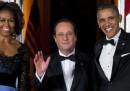 La cena di stato di Obama per Hollande – foto