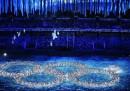 La cerimonia di chiusura di Sochi 2014