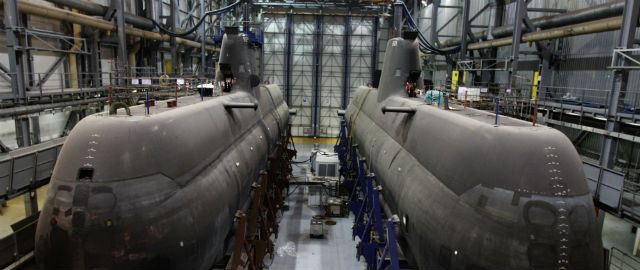 Gli inutili sottomarini della Grecia