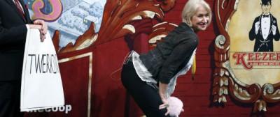 Helen Mirren fa twerking