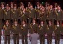Il Coro della Polizia Russa canta