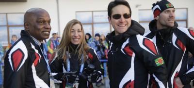 I due atleti della Dominica a Sochi