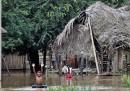 Le piogge torrenziali in Bolivia