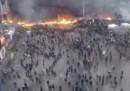La battaglia di Kiev dall'alto – video
