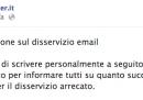 La spiegazione di Register.it sul problema con i suoi servizi di posta elettronica