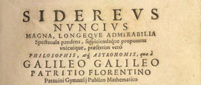 De Caro, il falso Galileo Galilei