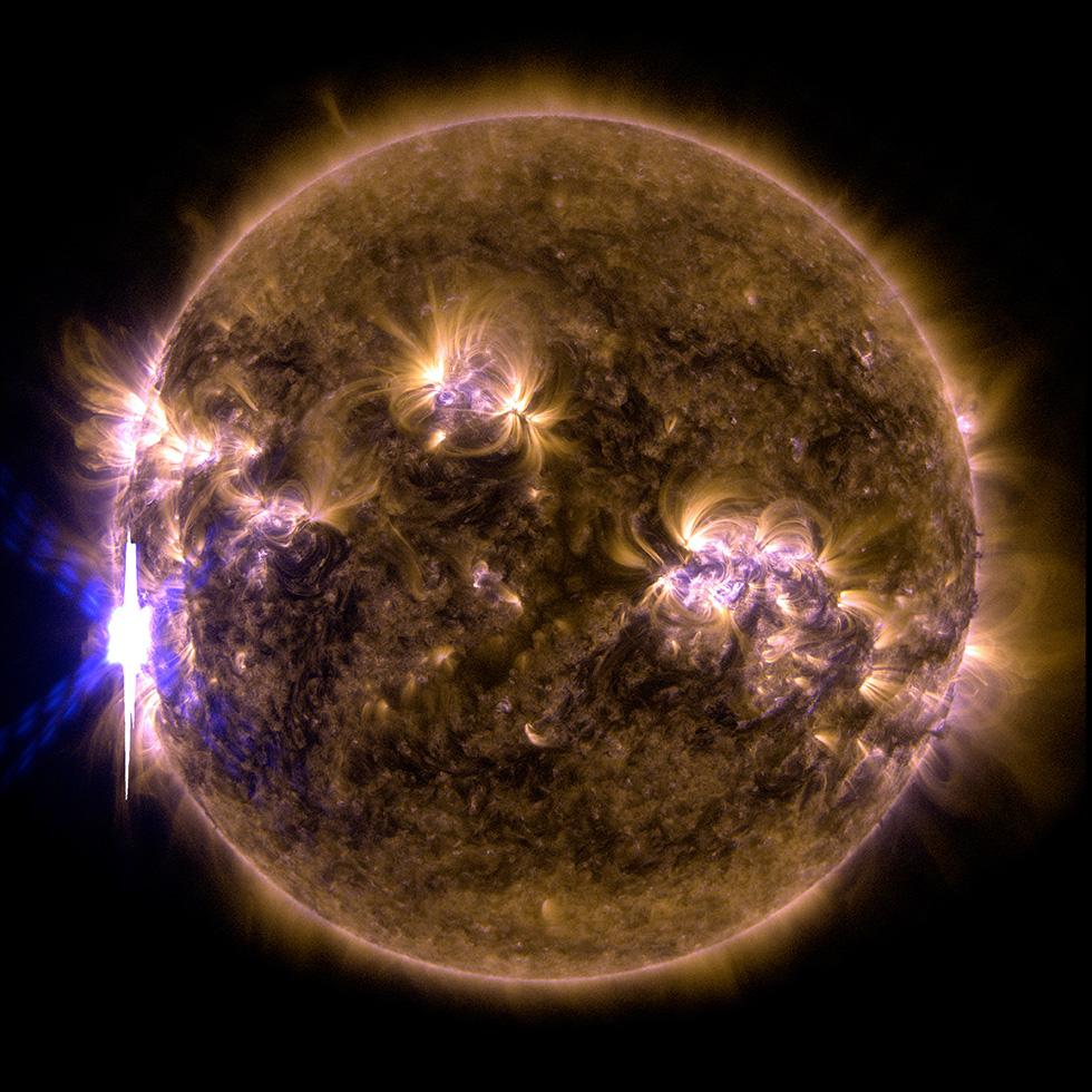 sole-eruzione