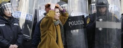 Gli scontri in Bosnia-Erzegovina