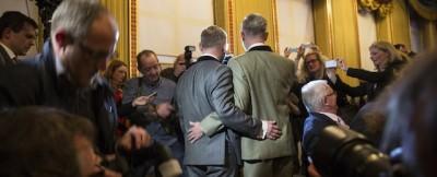 I primi matrimoni gay nel Regno Unito