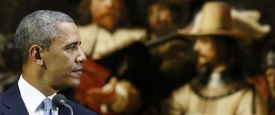 La visita di Obama al Rijksmuseum