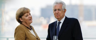 Angela Merkel e i tanti presidenti del Consiglio italiani