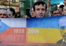 Le manifestazioni in Crimea