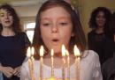 Un secondo al giorno nella vita di una bambina (prima e dopo la guerra)