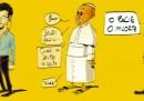 Un indizio: c'è Papa Francesco