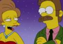 L'ultimo saluto dei Simpson alla maestra Caprapall