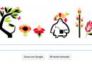Equinozio di primavera, il doodle di Google