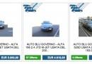 Le auto del governo su eBay