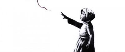 L'immagine di Banksy per la Siria