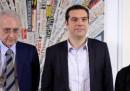 Il simbolo e i candidati della Lista Tsipras