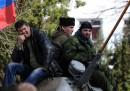 Un'altra base attaccata in Crimea