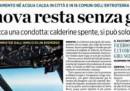 A Genova non si può usare il gas