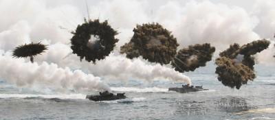 La guerra finta tra le Coree