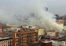 I due palazzi crollati a New York