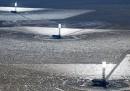 La più grande centrale solare del mondo, dall'alto