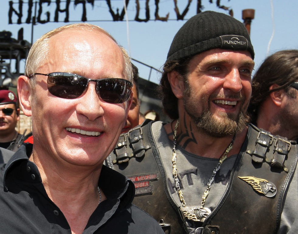 UKRAINE-POLITICS-UNREST-RUSSIA-BIKERS