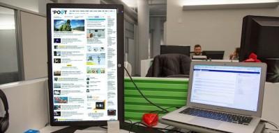 Col monitor verticale si naviga meglio?