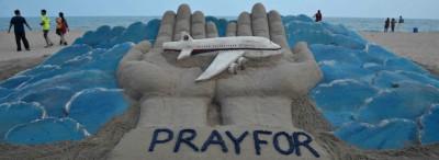 Il volo MH370 disegnato