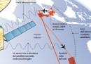 Tutti i paesi che cercano il volo MH370