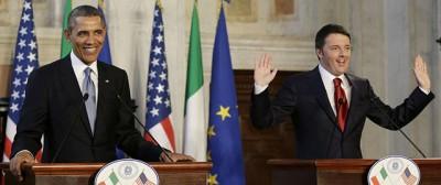 Le foto di Obama in Italia