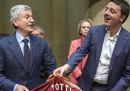 Le foto di D'Alema e Renzi alla presentazione del libro di D'Alema