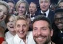 Chi era l'unico sconosciuto nel selfie degli Oscar (l'imbucato dell'anno)