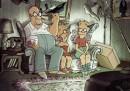 La gag del divano dei Simpson fatta da Sylvain Chomet