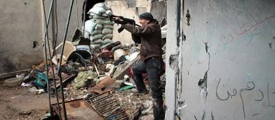 Fotografie dalla Siria in guerra
