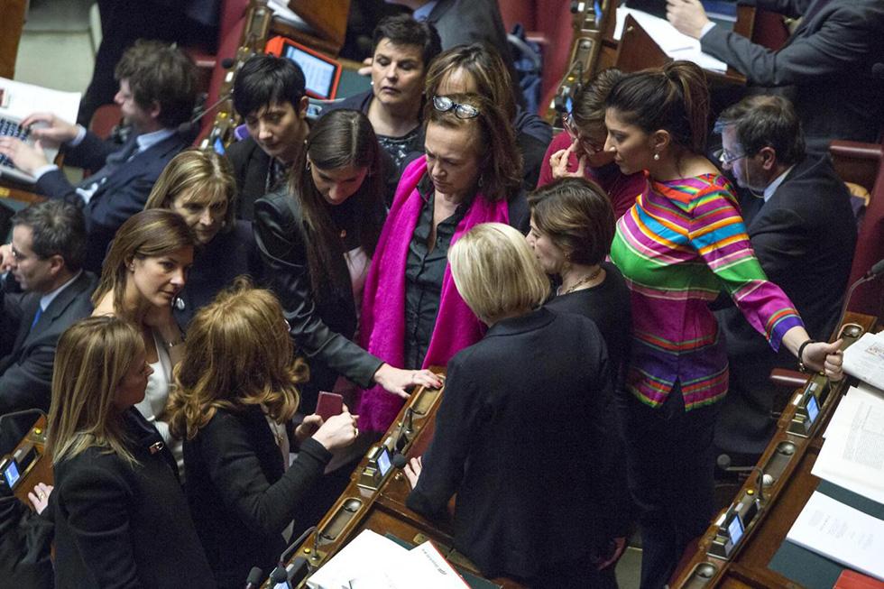 Le foto di marted alla camera il post for Camera dei deputati live