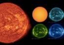 Un mese di Sole che ruota in timelapse