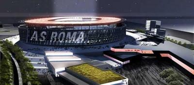 Come sarà il nuovo stadio della Roma – foto