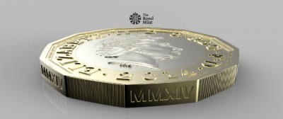 La nuova moneta da una sterlina