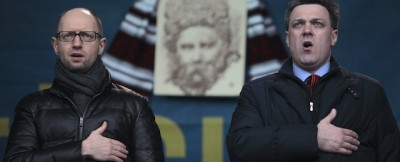 L'Ucraina ha un nuovo governo, intanto