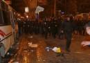 Gli scontri a Donetsk
