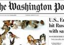 Le prime pagine americane di mercoledì