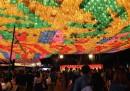 Il festival delle lanterne, in Corea del Sud - foto