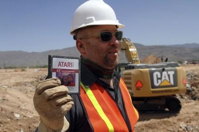 giochi Atari sepolti