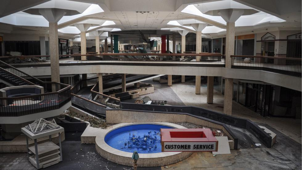 Akron Auto Mall >> Centri commerciali abbandonati - Il Post