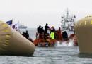 Cosa è successo oggi col traghetto sudcoreano